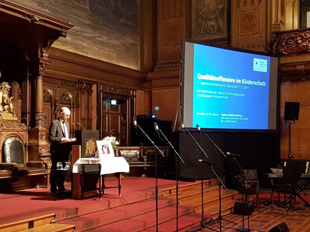 Rede von Dr. Till Steffen bei der Yagmur Gedenkveranstaltung im Rathaus