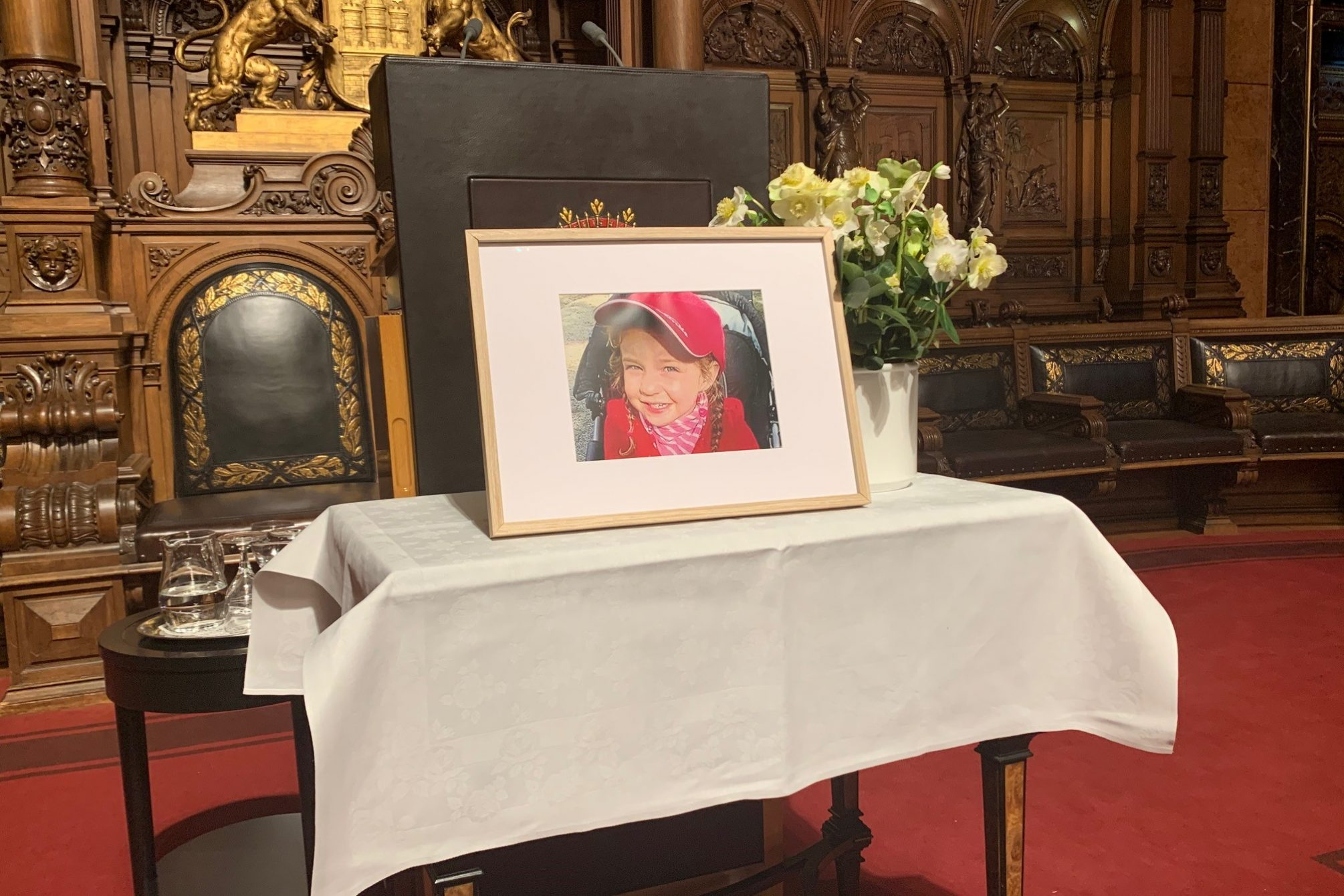 Bild des getöteten Mädchens Yagmur