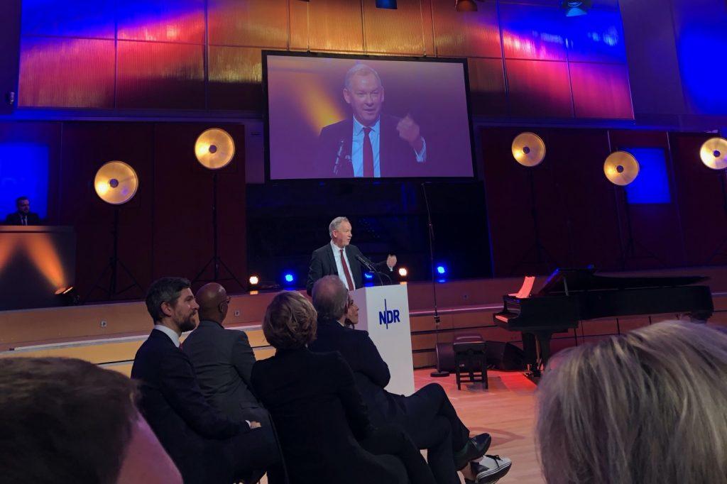 Verabschiedung des bisherigen NDR-Intendanten Lutz Marmor